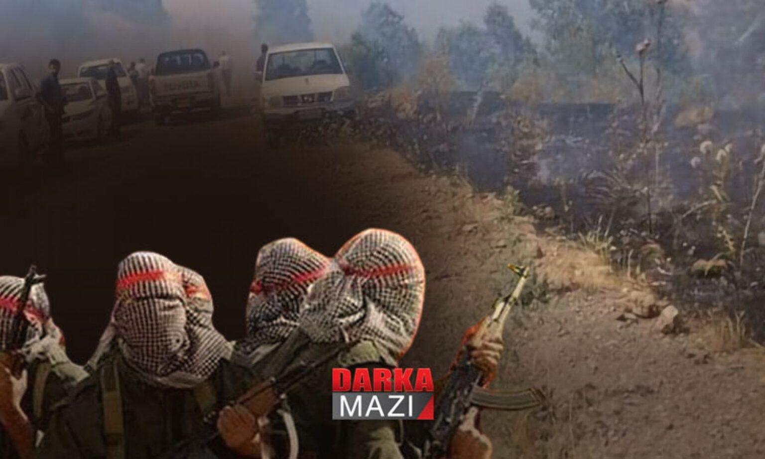 PKK'den Sidekan'da yine provakasyon: Uzun namlulu silahlarla peşmerge noktasına saldırıldı