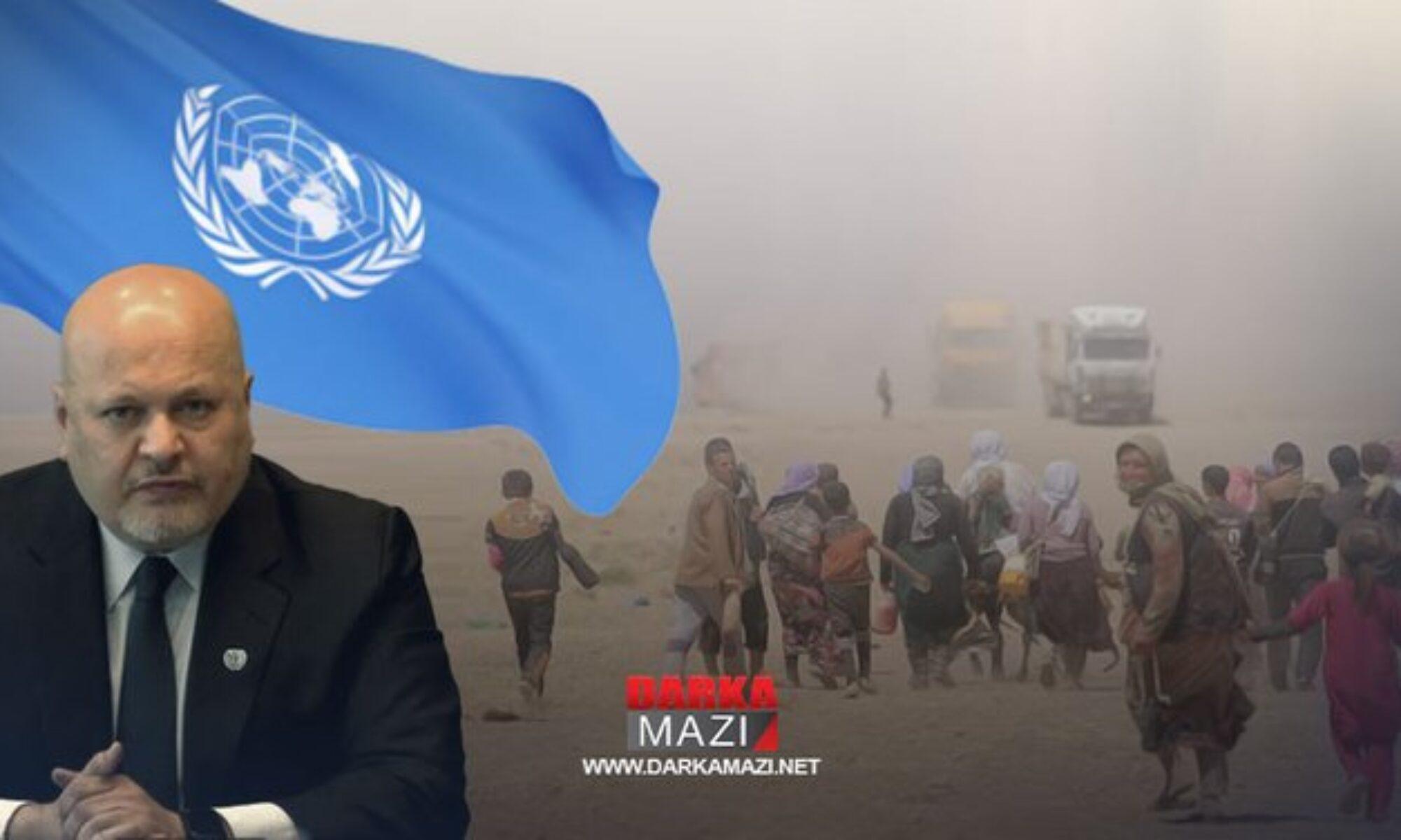 IŞİD Suçlarını Araştırma Komisyonu Başkanı Ehmed Xan: Mesrur Barzani IŞİD'ın Ezidiler üzerindeki katliamını araştırmaya büyük destek veriyor
