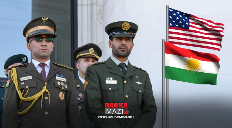 Peşmerge subayı Eyup Hemed Emin Amerika'da önemli askeri eğitim programından mezun oldu