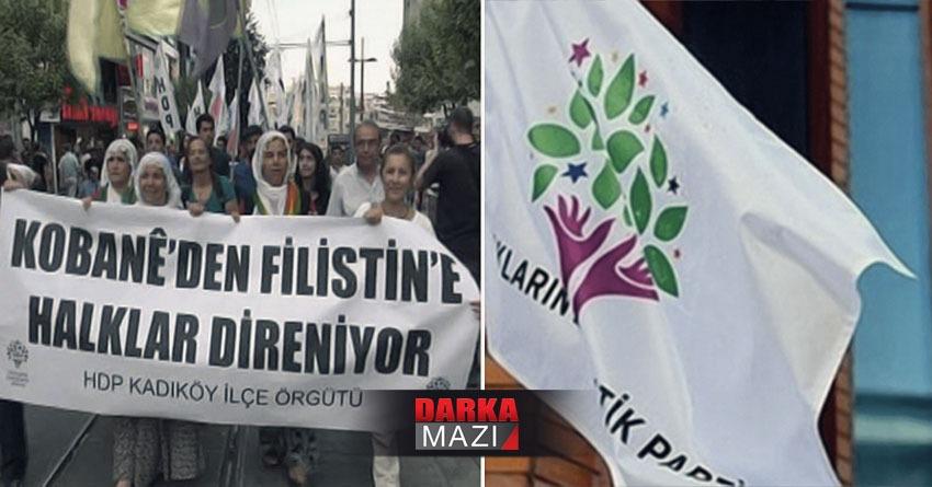 HDP'nin İsrail karşıtı bildiriye imza atması Kürtleri kızdırdı