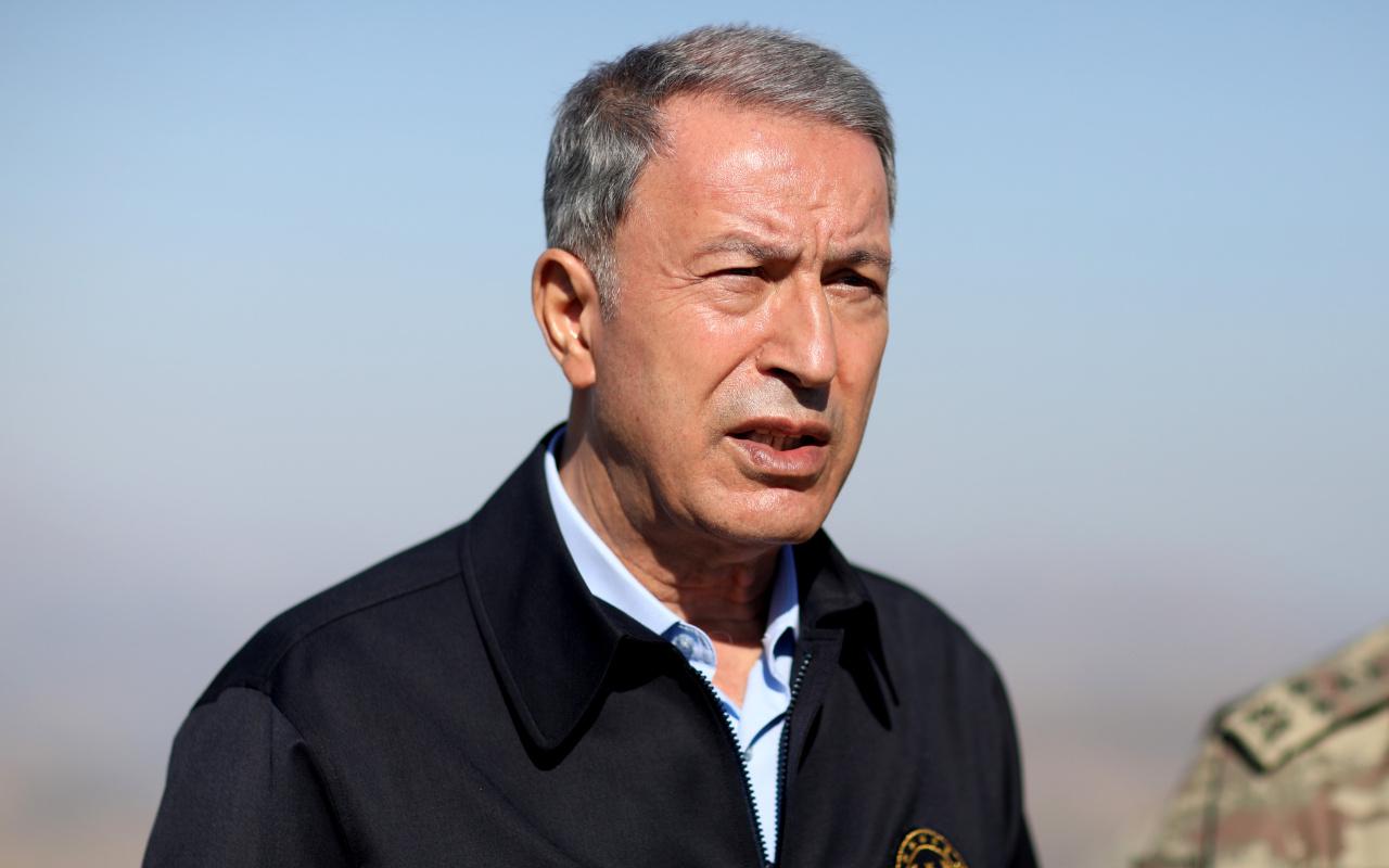 Hulusi Akar Türkiye'nin komşularının toprak bütünlüğüne saygılı olduklarını iddia etti