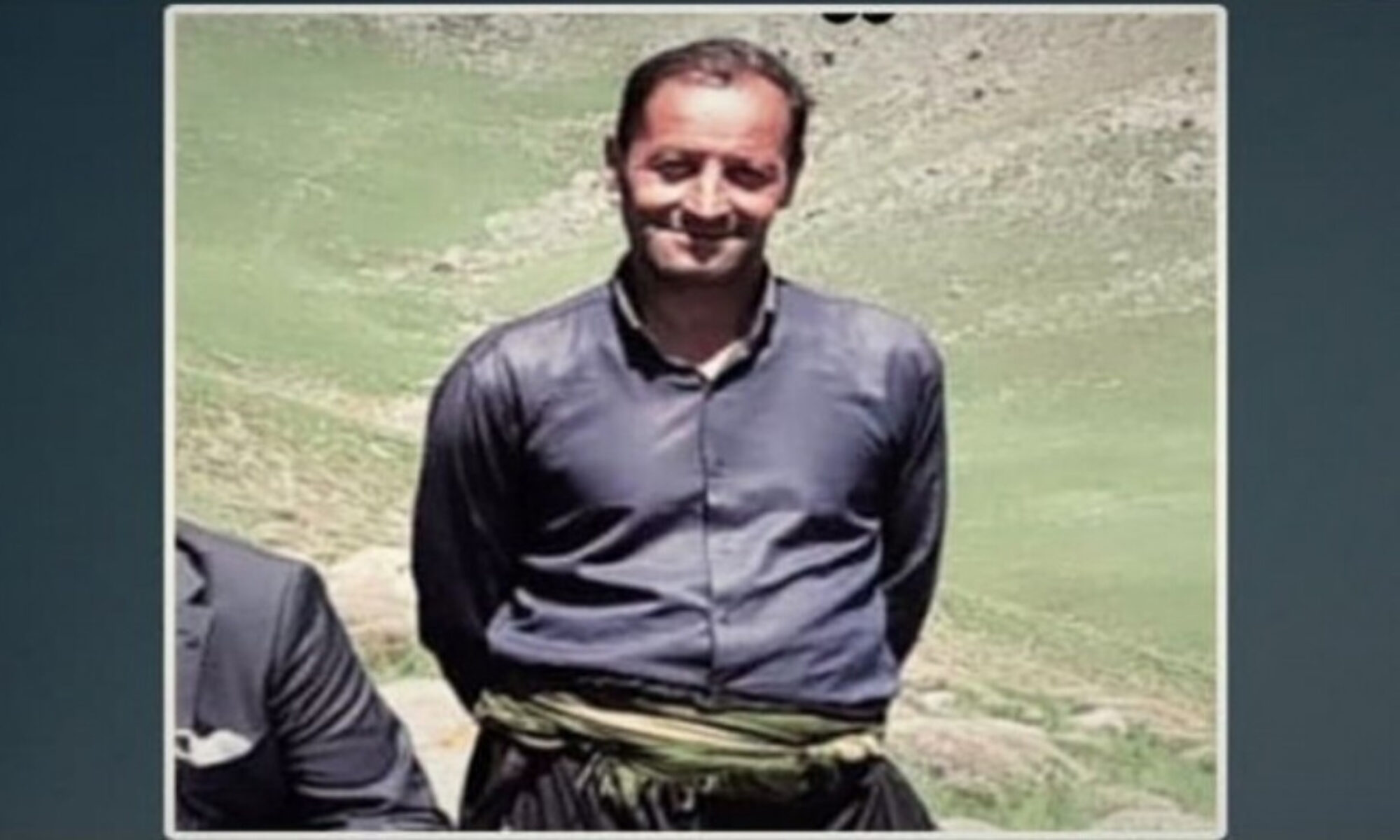 Hengaw: İran Zabit Alxani isimli kolberi öldürdü Salmas Urmiye,