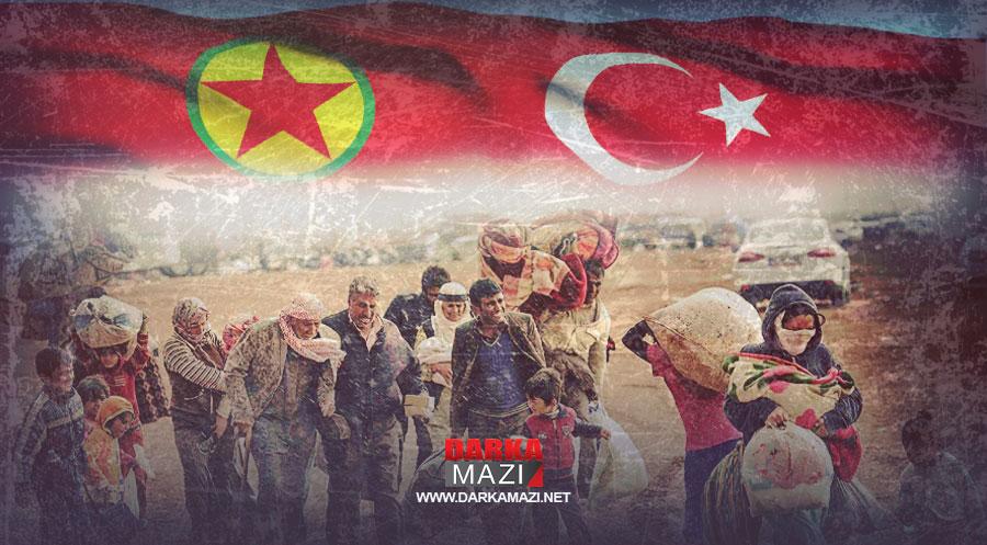 PKK ve TSK'nın Kuzey Kürdistan'da köylerin boşaltılmasındaki çıkarları ve aynı siyasetin Güney Kürdistan'a yansıması, Köye Dönüş Yasası, AB projesi, Mahmurk Kampı, Gabar, Cudi, Besta Botan, Operasyonlar, aşiretler, Türk kimliği, Mahmur Kampı,