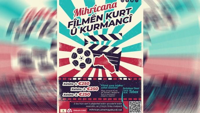 """""""Kurt u Kurmanci"""" filim festivali düzenleniyor"""
