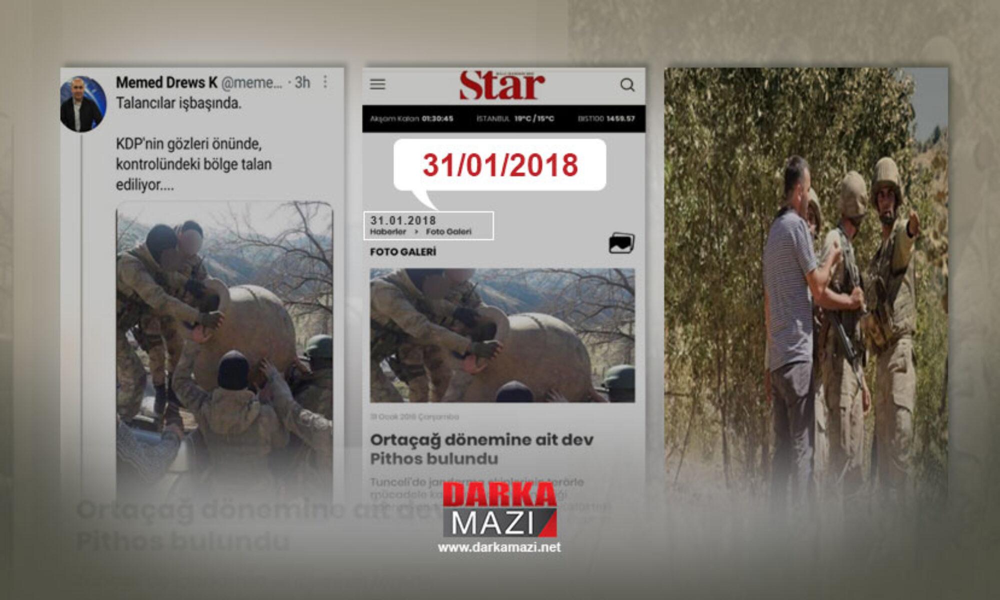 PKK Medyası yine yalan haber paylaştı Mehmet Derweş; Dersim, Pithos, operasyon, Zinare Keste, Çelkê, Hiror, Medya Savunma Alanları, Manipülasyon, PKK