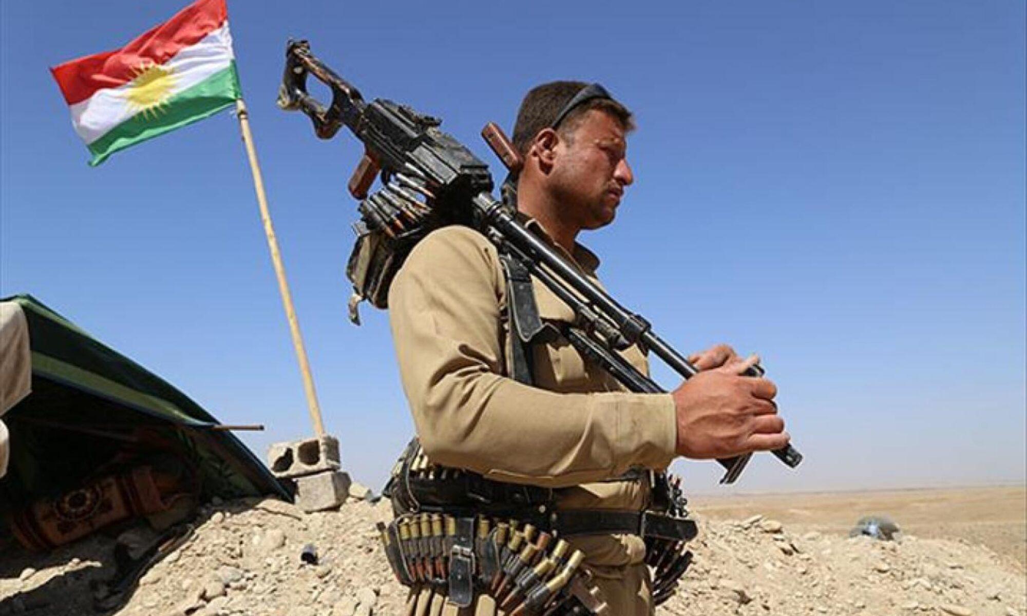 Kürdistan peşmergesi TSK operasyonlarının devam ettiği Berwari Bala alanında üs noktaları kurdu