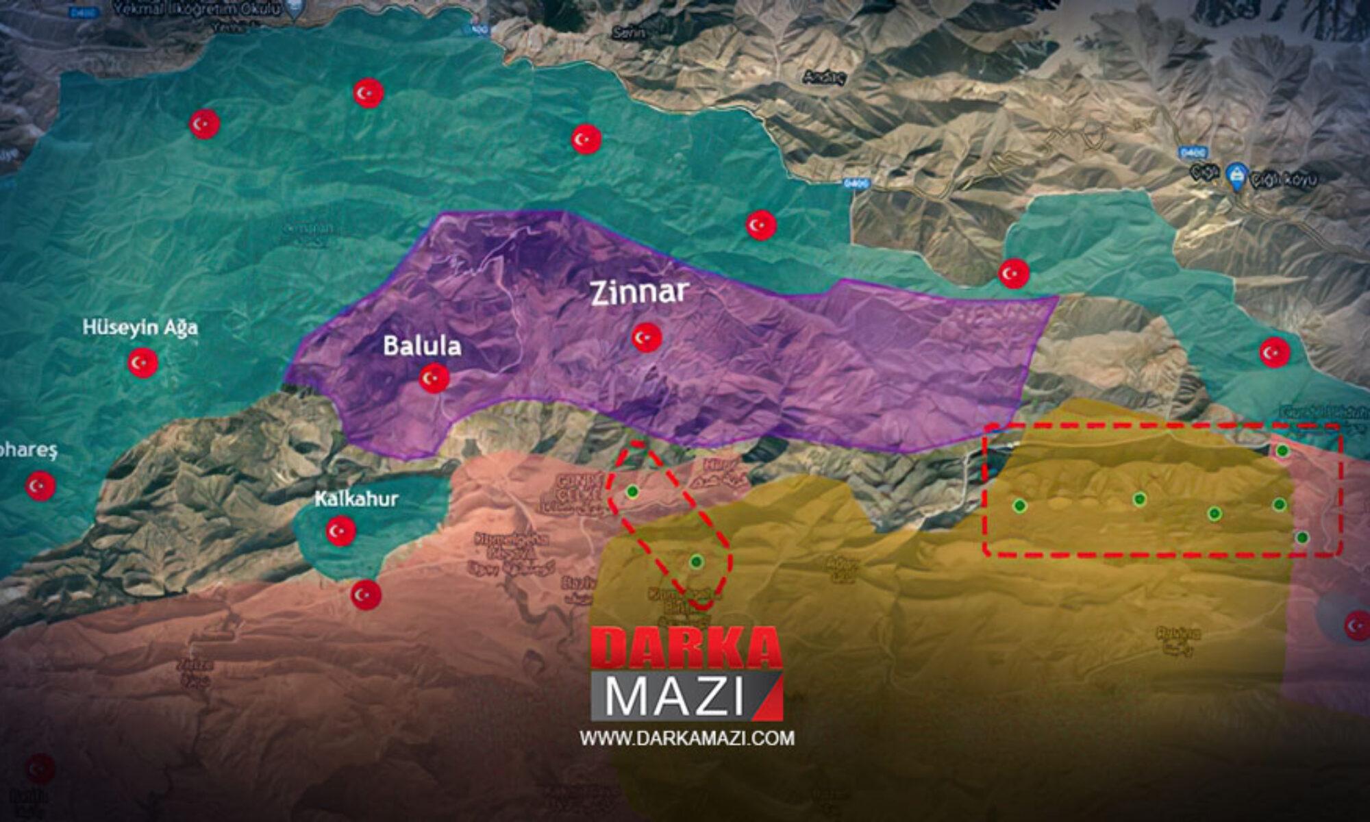 Peşmerge'den sonra Irak Sınır Koruma Muhafızları da TSK'nın operasyon yaptığı bölgeye güç gönderdi
