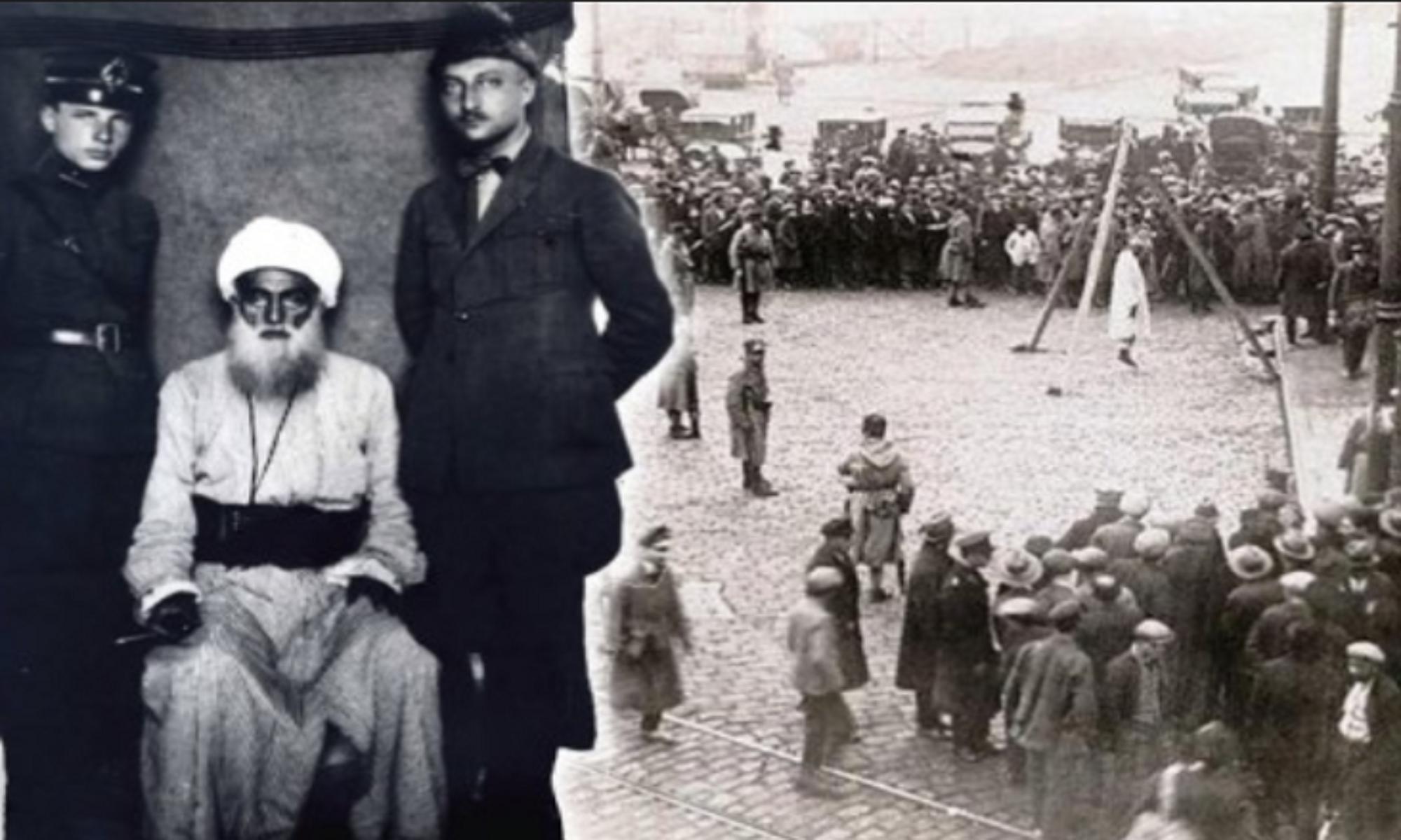 """Şeyh Said ve dava arkadaşlarının Dağkapı meydanında """"Mahşerde Hesaplaşacağız"""" demesinin üzerinden 96 yıl geçti istiklal mahkemesi ,isyan ,hani lice"""