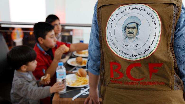 Yangin çıkan Ezidi Mülteci için harekete geçildi: Barzani Yardım Vakfı 240 yeni ev yapıyor