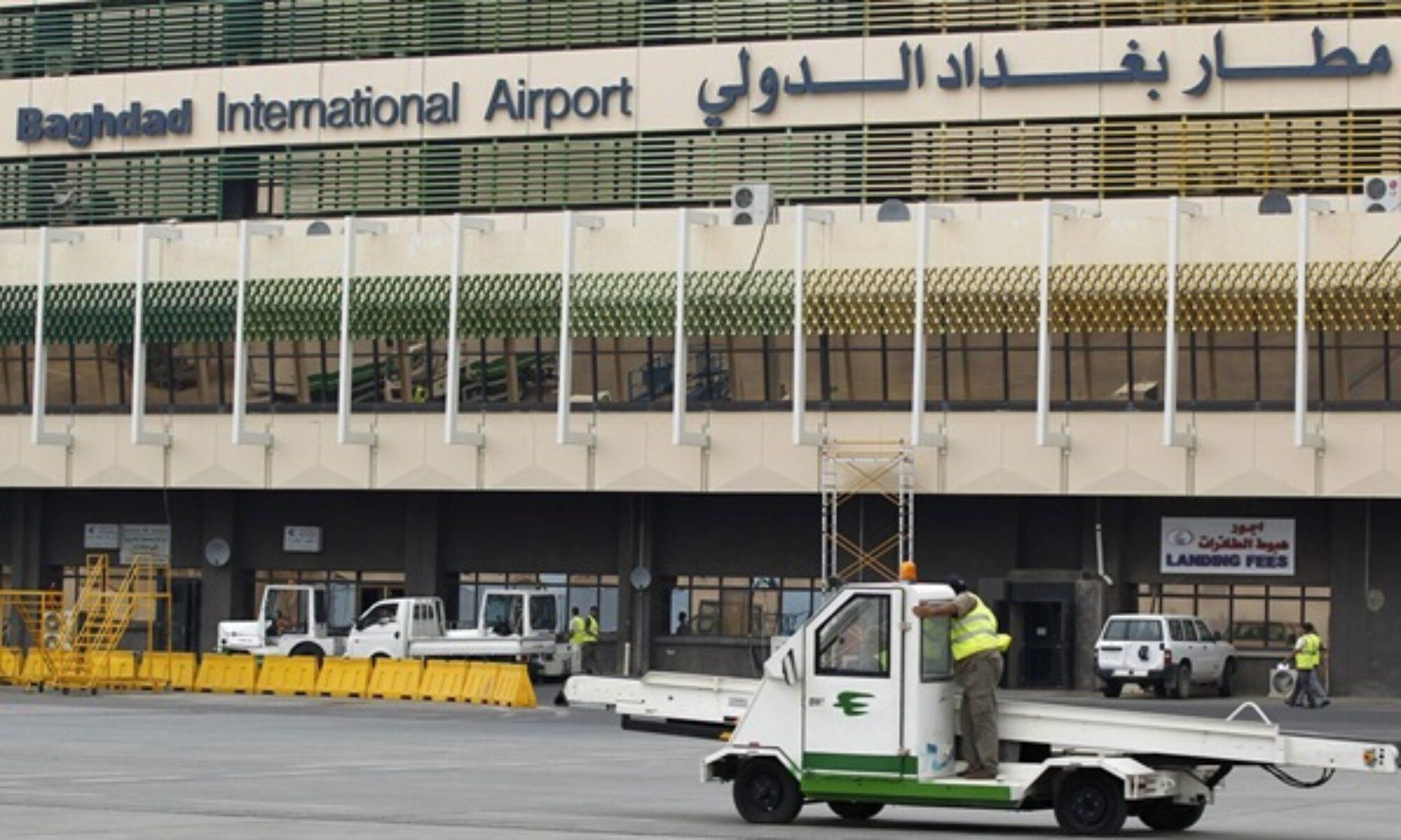 Bağdat Havalimanı'na bomba yüklü 3 İHA'yla saldırı