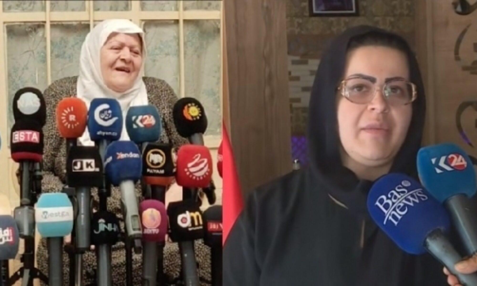 YNK Asayişi Halepçe'de yolsuzlukları ortaya çıkaran Dr. Baxan Azad'ın annesini ve çocuklarını ölümle tehdit ediyor
