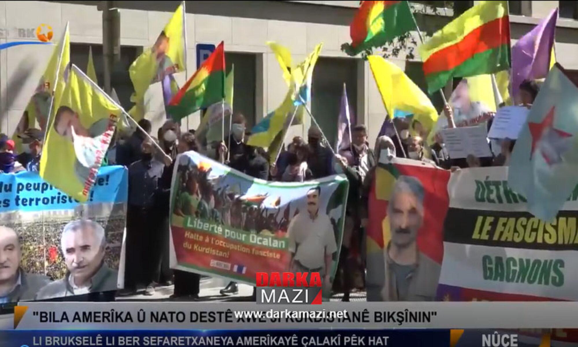 NATO ve ABD'nin Kürdistan'dan çıkmasını istemek Türkiye ve İran'a buyrun siz gelin demektir