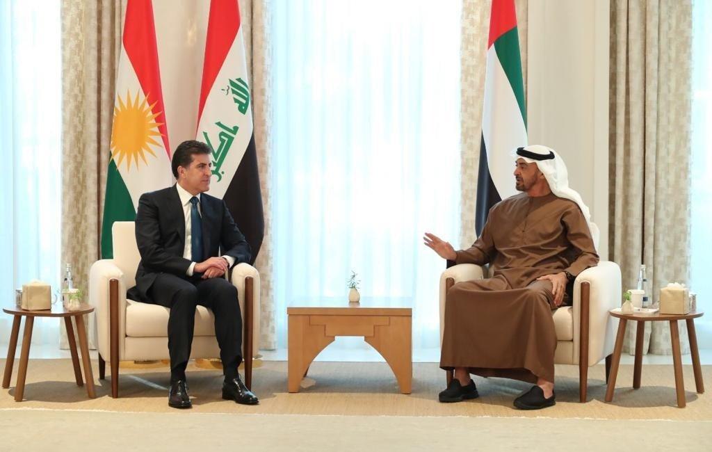 Neçirvan Barzani ile Abu Dabi Veliaht Prensi El Nahyan görüşmesi sona erdi