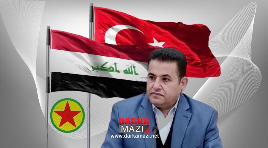 """Irak Ulusal Güvenlik Müsteşarı Areci: """"PKK'nin Irak topraklarındaki varlığı yasal ve meşru değil"""""""