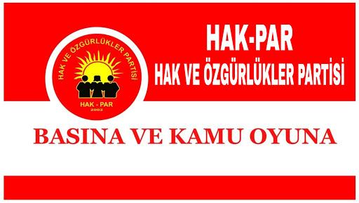 HAK-PAR'dan Deniz Poyraz'ın katledilmesine dönük açıklama: Kürtlerin bir bütün olarak terörist ilan edilmesinin sonucu