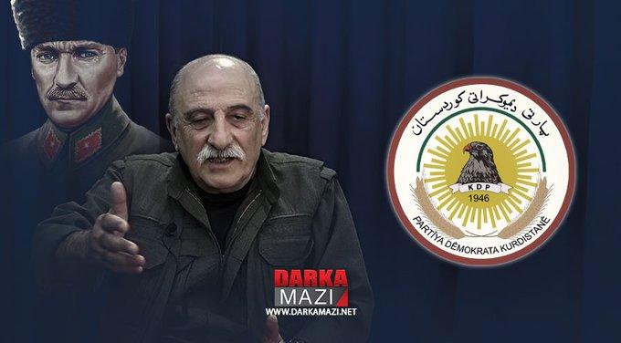 """PDK Basın Bürosusu: """"PKK başlarıKürdistan Bölgesi, Hükümeti, resmi kurumları ve Kürdistan Bölgesi halkının çıkarlarına karşıtlıkta kararlıdır""""Duran Kalkan, Kürdistan,"""