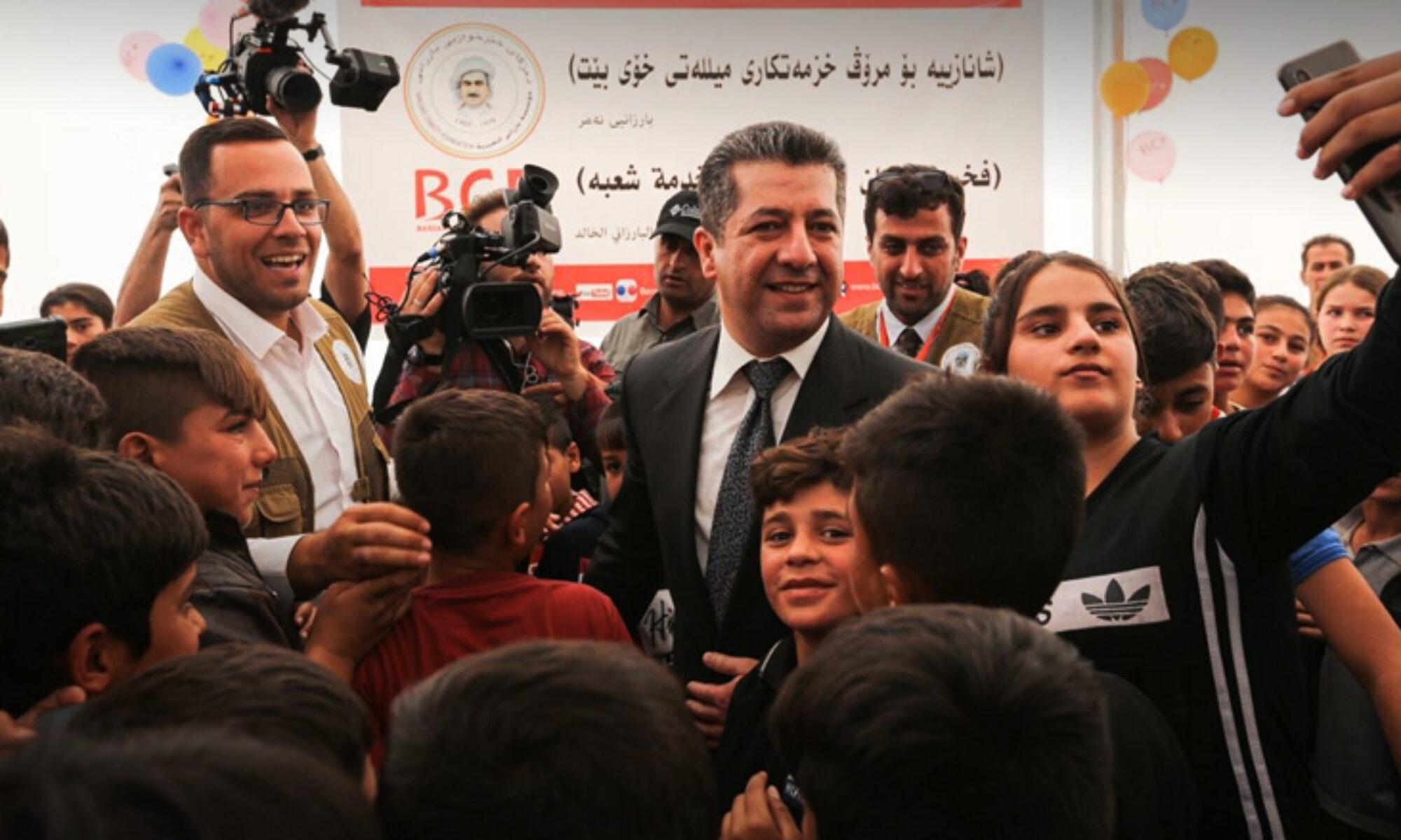 Mesrur Barzani Dünya Mülteciler Gününde Kürdistan'da ki 1 milyon mülteciye seslendi: Burası sizin eviniz