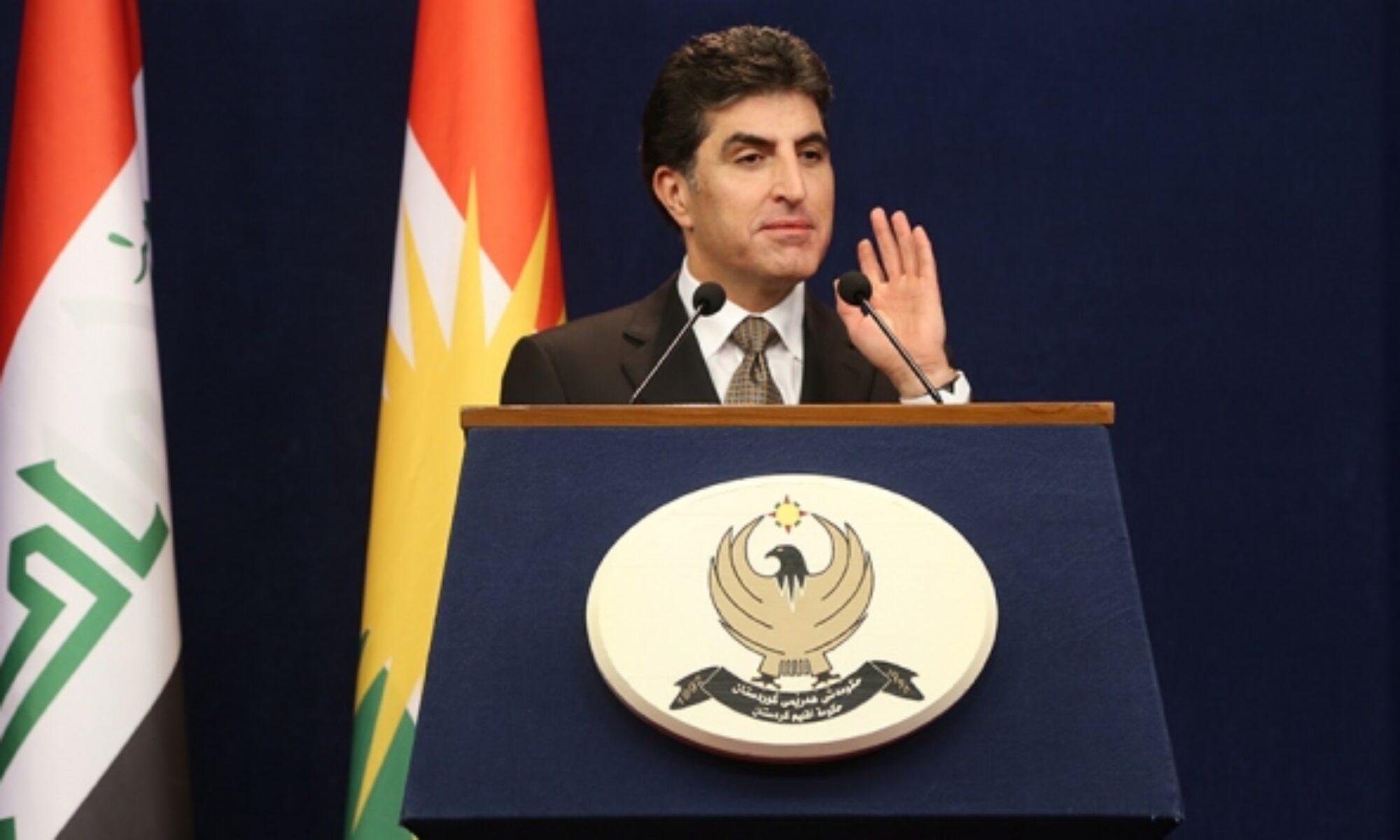 Kürdistan Bölgesi Başkanı Neçirvan Barzani: PKK 30 yıldır Kürdistan Bölgesi için sorun yaratıyor