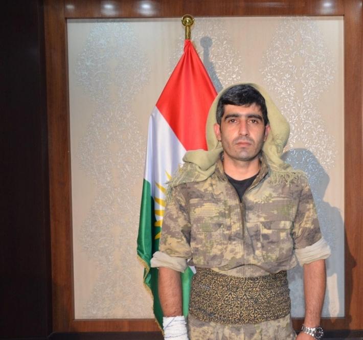 HPG Komutanı Özgür Jiyanda'nın çok tartışılcak açıklamaları: Gazi Salih Alixan'ı PKK'ye bağlı iki kişilik bir tim vurdu Metina Pıling Suruç, Bitlis,