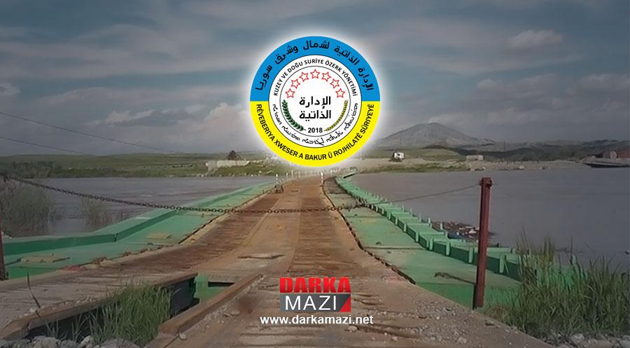 Sêmalka Sınır Kapısı PYD yönetimi tarafından kapatıldı Şewket Berebuhari, Rojava Özerk Yönetimi