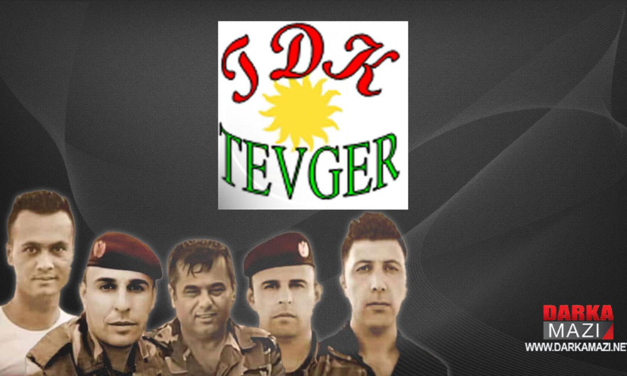 Tevgera Demokratîka Kurdistan-Tevger PKK'nin 5 Peşmergeyi şehit ettiği saldırıyı kınadı