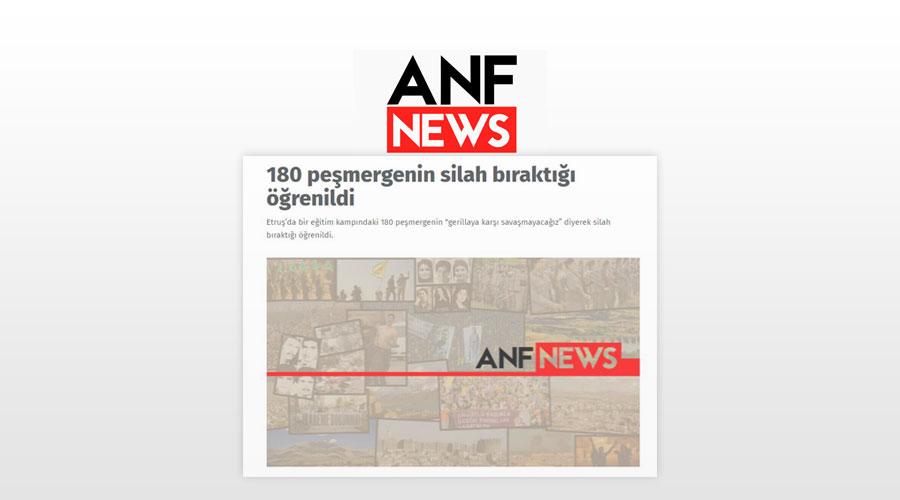 PKK medyasının 180 Peşmerge istifa etti haberinin gerçeği ne?ANF, YNK, Kürdistan, Cemil Bayık, Murat Karayılan, Gerilla, Amediye, Gire Elho, Alman Cemil Bayık 22 Ağustos 2014 tarihinde de Alman Frankfurter Allgemeine