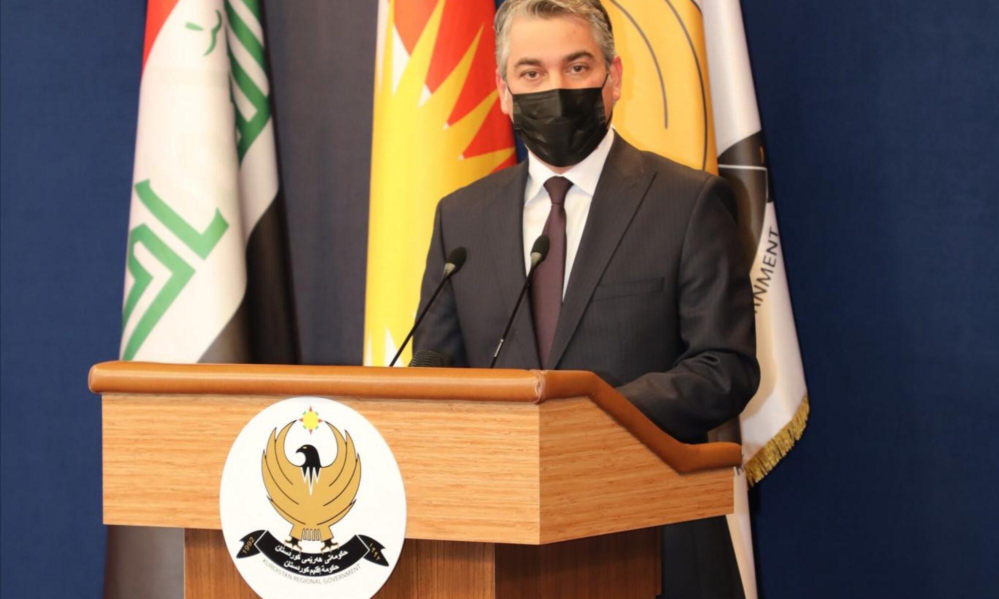 Haşdi Şabi milislerinin Erbil'i intikam hedefi gösteren açıklamalarına Hükümet Sözcüsü Cotyar'dan cevap geldi