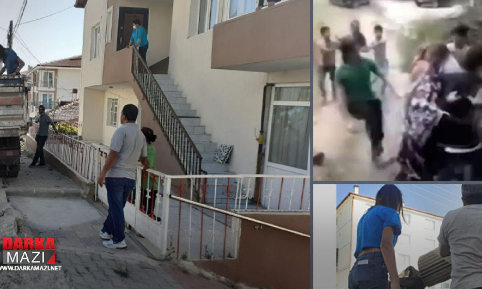Ankara'da Kürt aileye ırkçı saldırı Yüksekova, pis kürtler,
