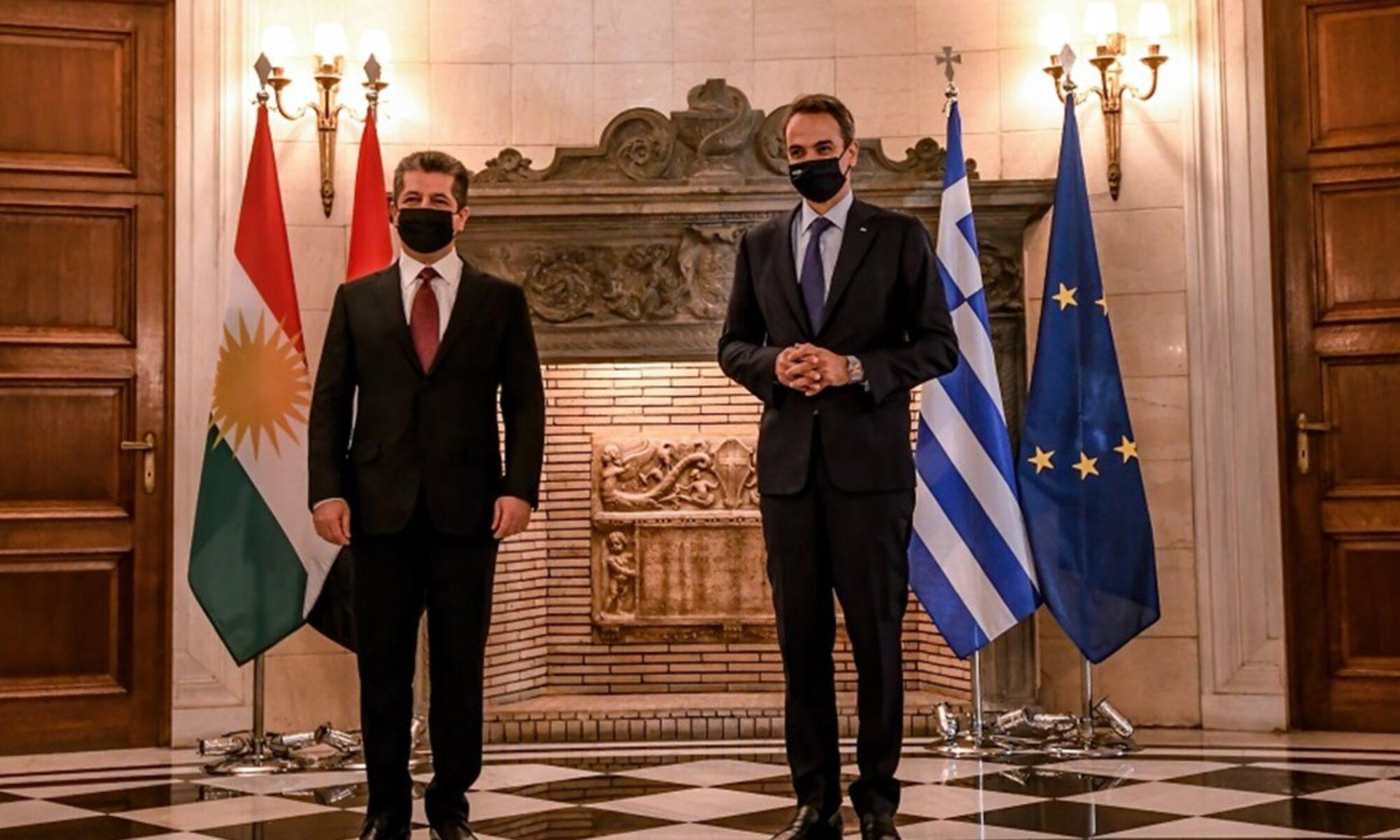 Başbakan Mesrur Barzani'nin ziyaretinin sonuçları; Yunan Başbakanı ve yatırımcılar Erbile geliyor