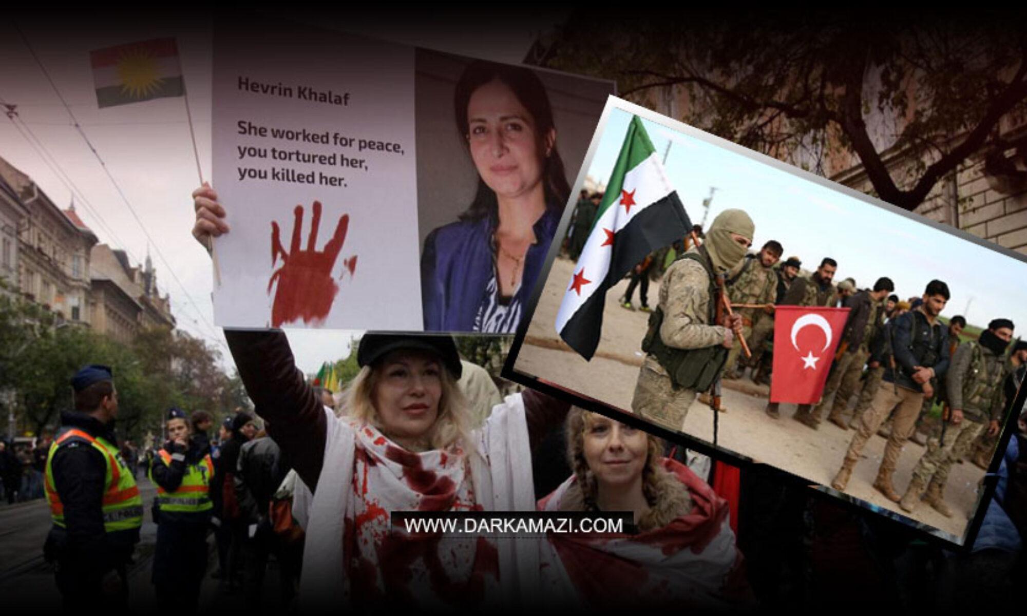 Hevrin Xalef'i katleden Türkiye'nin desteklediği Ahrar El Şarkiye gurubu ABD yaptırım listesine girdi