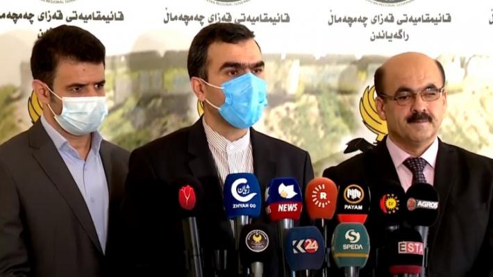 İran Konsolosu: Erbil'e saldırılarda parmağımız olduğu iddialarını red ediyoruz
