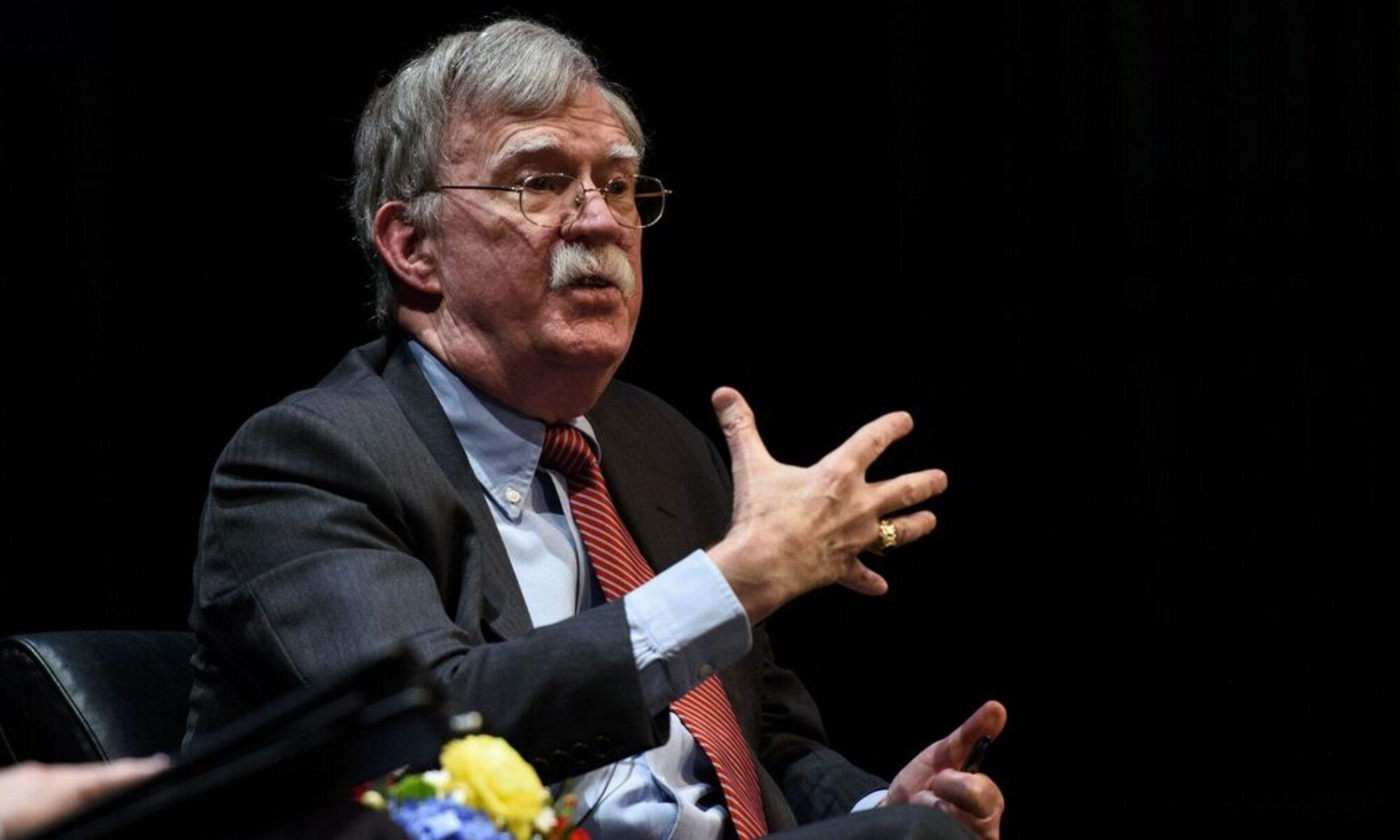 John Bolton konuştu: Trump İran'a hava saldırısı yapma önerimi dinlemedi