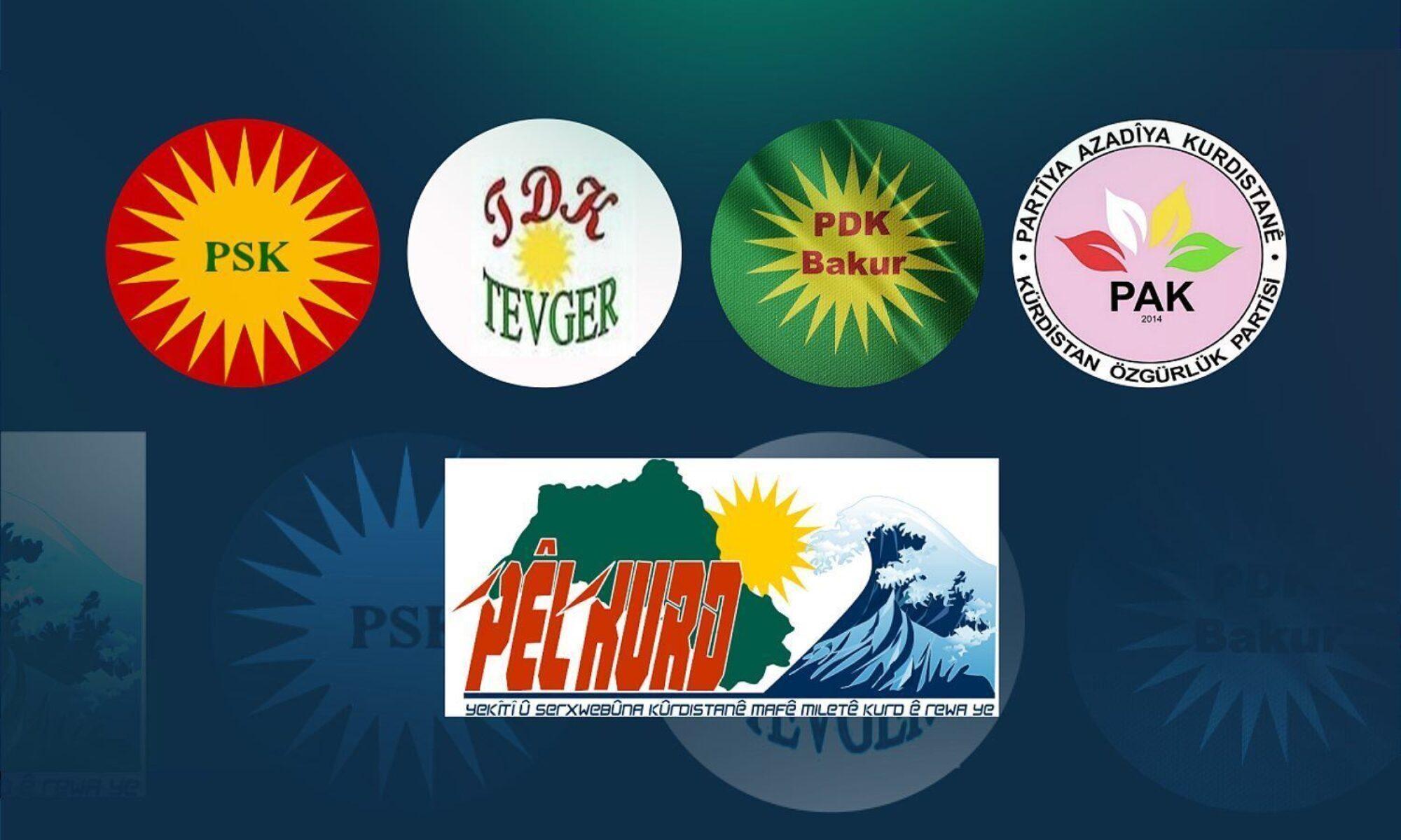 5 Kürt partisi: Kürt milletine karşı yürütülen sistemli jenosidin bir devamı olduğundan kuşkumuz yoktur Kürdistan Özgürlük Partisi (PAK), Kürdistan Demokrat Partisi-Bakur (PDK-Bakur), PÊLKURD, Kürdistan Sosyalist Partisi (PSK) ve Kürdistan Demokratik Hareketi (TEVGER) Afyon, ankara, Konya, Irkçı saldırı