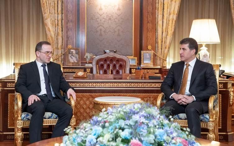 Yeni atanan Rusya'nın Bağdat Büyüelçisi Kutrashev; Kürdistan bölgesindeki imar, gelişmişlik ve kalkınma şaşırtıcı