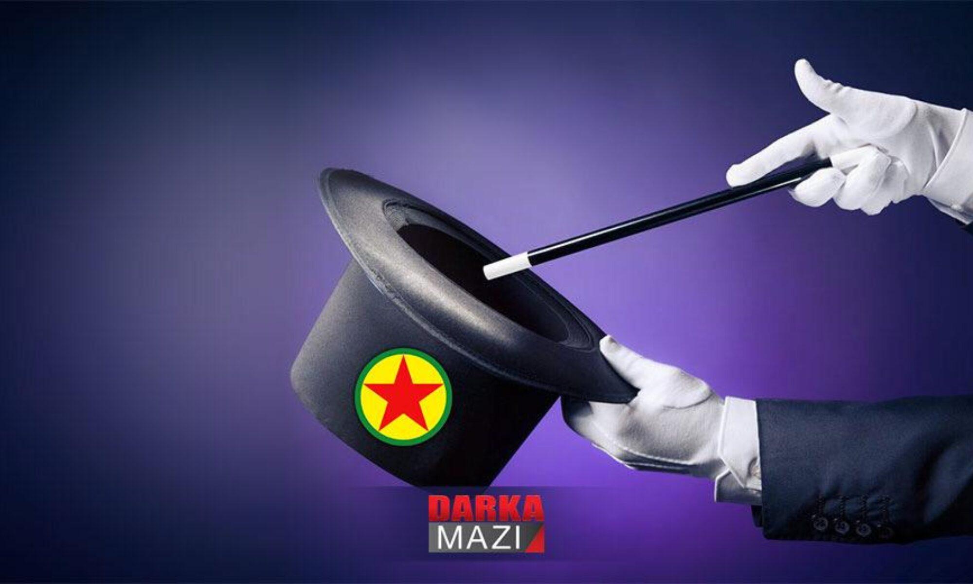 PKK, sihirbazlık ve ulusal Güney, KDP Barzani birlik gösterisi PYD; Rojava, Afrin,