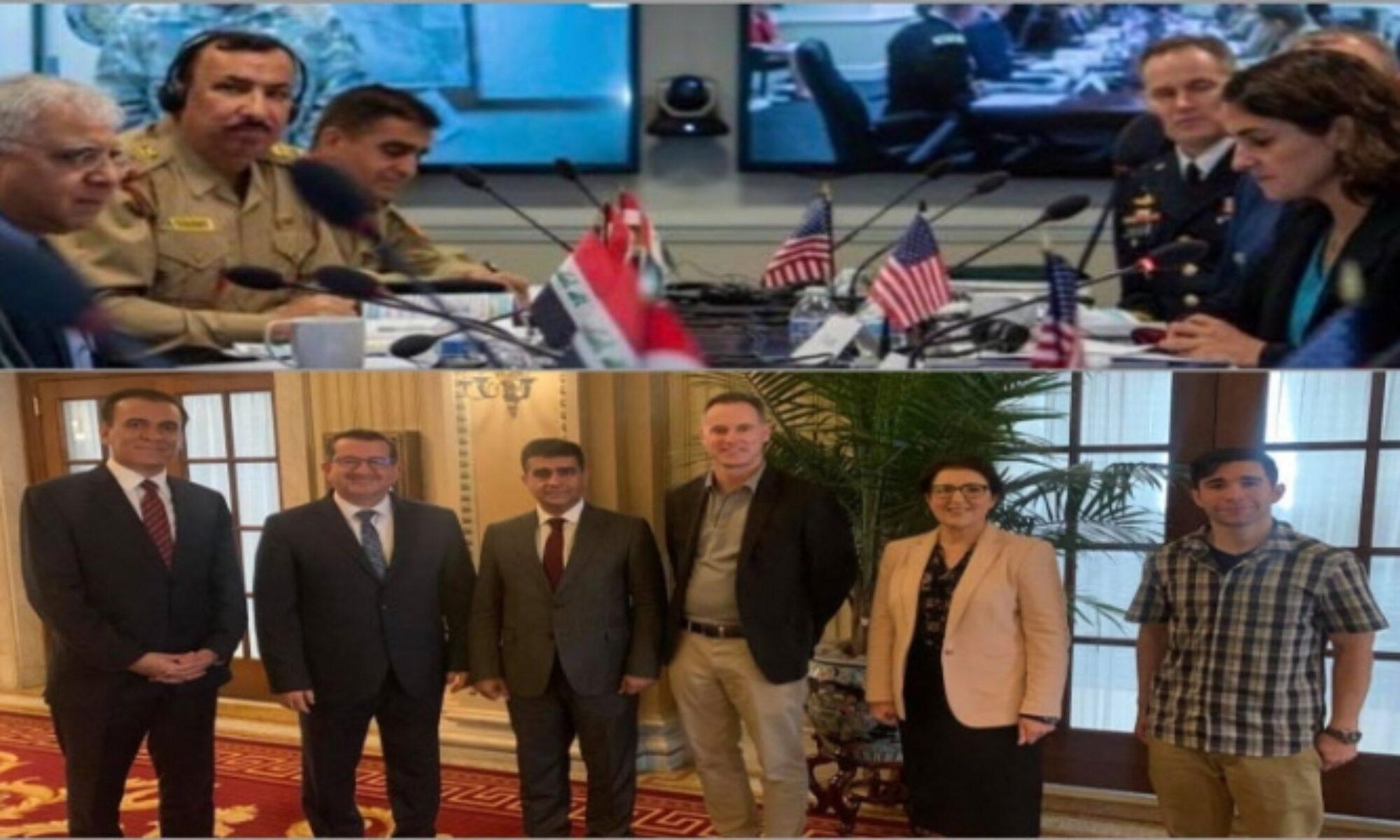 4. Stratejik Diyalog görüşmelerine Peşmerge ve Irak ordu yetkilileri beraber katılıyor
