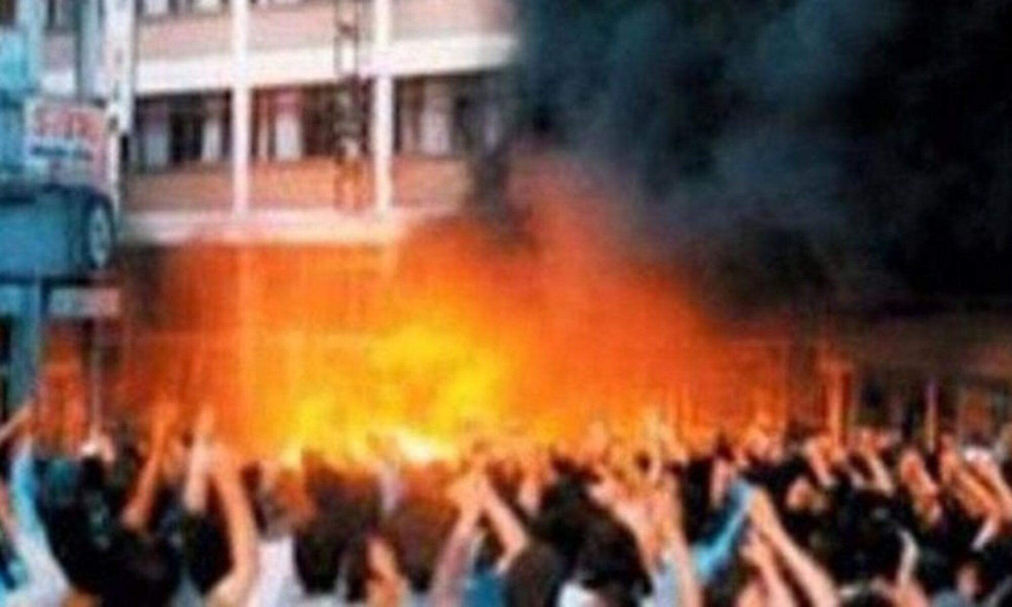 Madımak Oteli'nde 33 Kürt ve Alevi'nin katledilmesinin üzerinden 28 yıl geçti