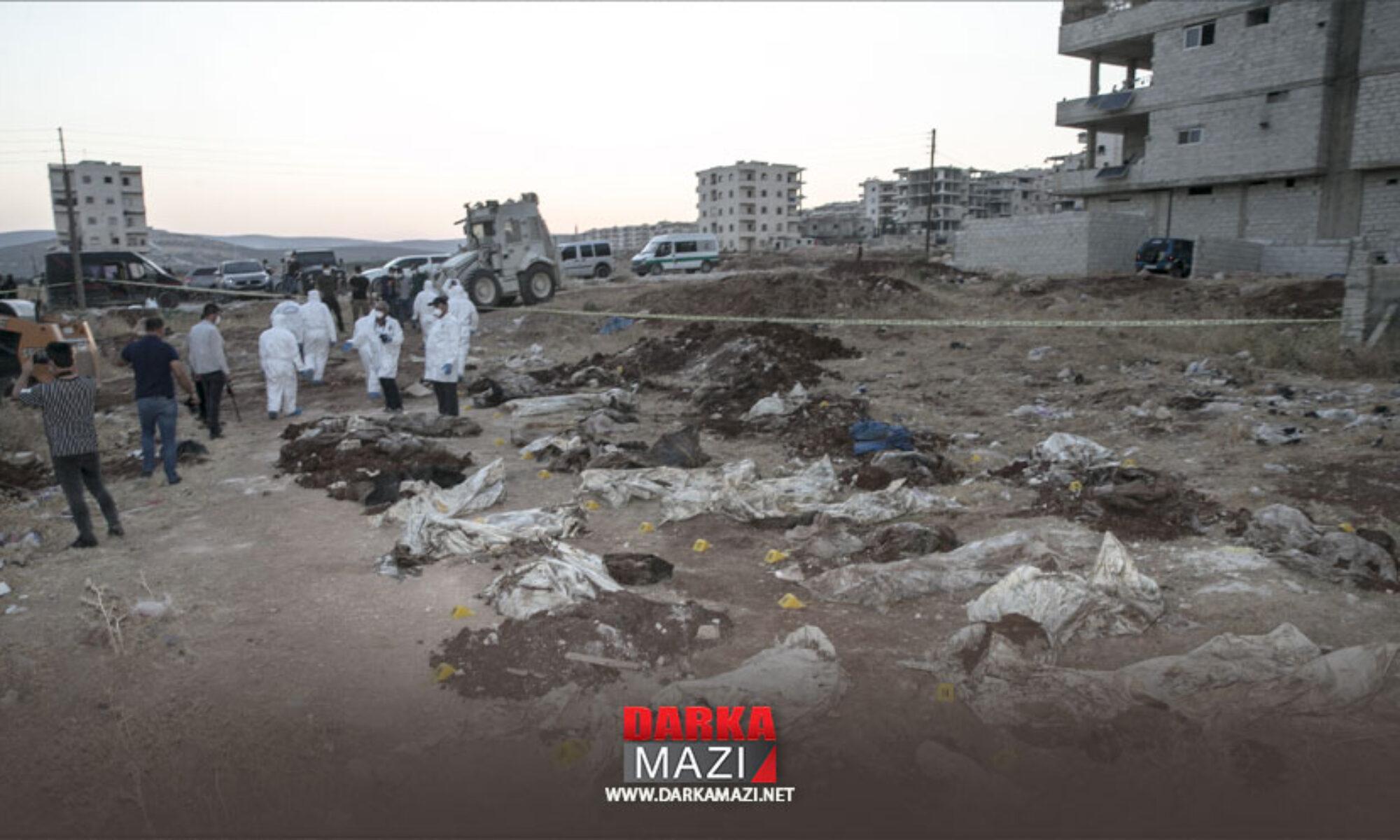 Efrin'de toplu mezar bulundu