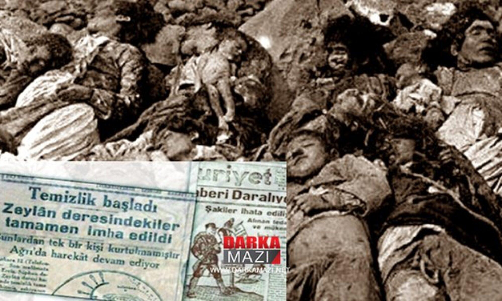 Zilan Katilamı üzerinden 91 yıl geçti Cumhuriyet GazetesiFerik Salih Omurtak komutasındaki 9. Kolordu