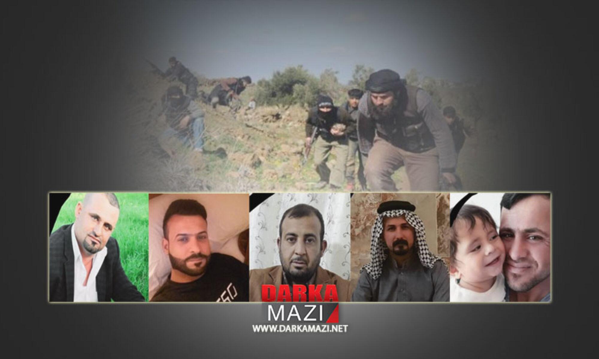 IŞİD, esir aldığı köylüleri kurtarmak isteyen 5 köylüyü katletti