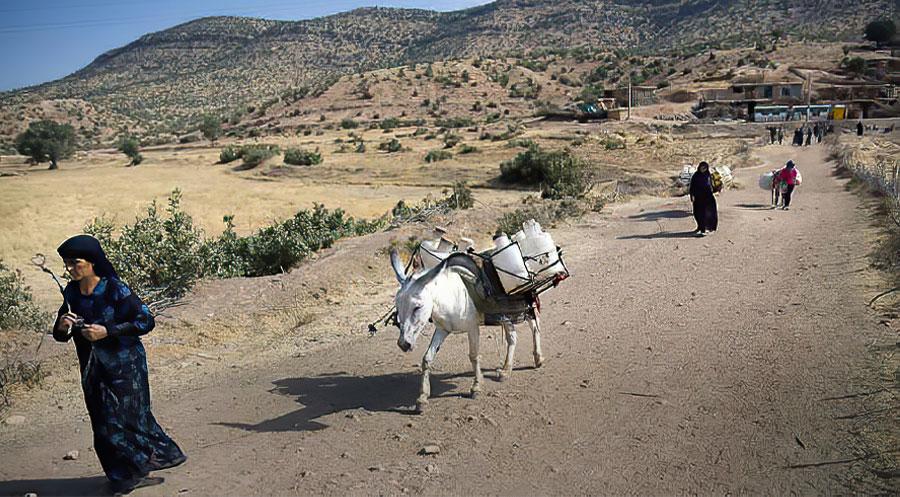 Doğu Kürdistan'da 120 köy ve bir milyon 200 bin insan susuz kaldı