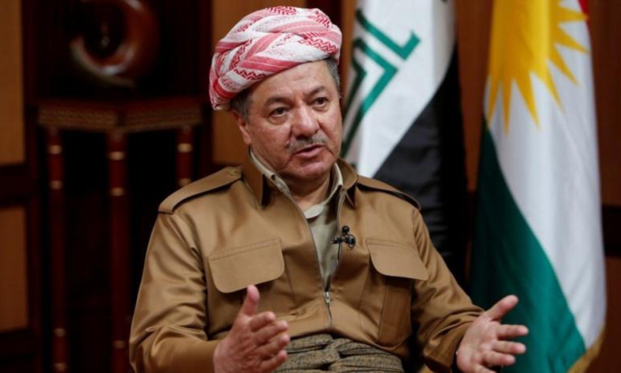 Barzani: soykırım ve katliama teslim olmadı, düşmanlar ve suçlular ise tarihin çöplüğüne gömüldü