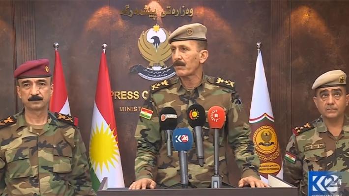 Peşmerge Genelkurmay Başkanı Eminki: Irak ordusu ile iki ortak tugay kuruyoruz