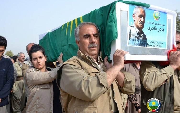 Erbil: PDK-İ Komutanı Kadir Kadiri'yi katleden 3 kişiye idam cezası verildi