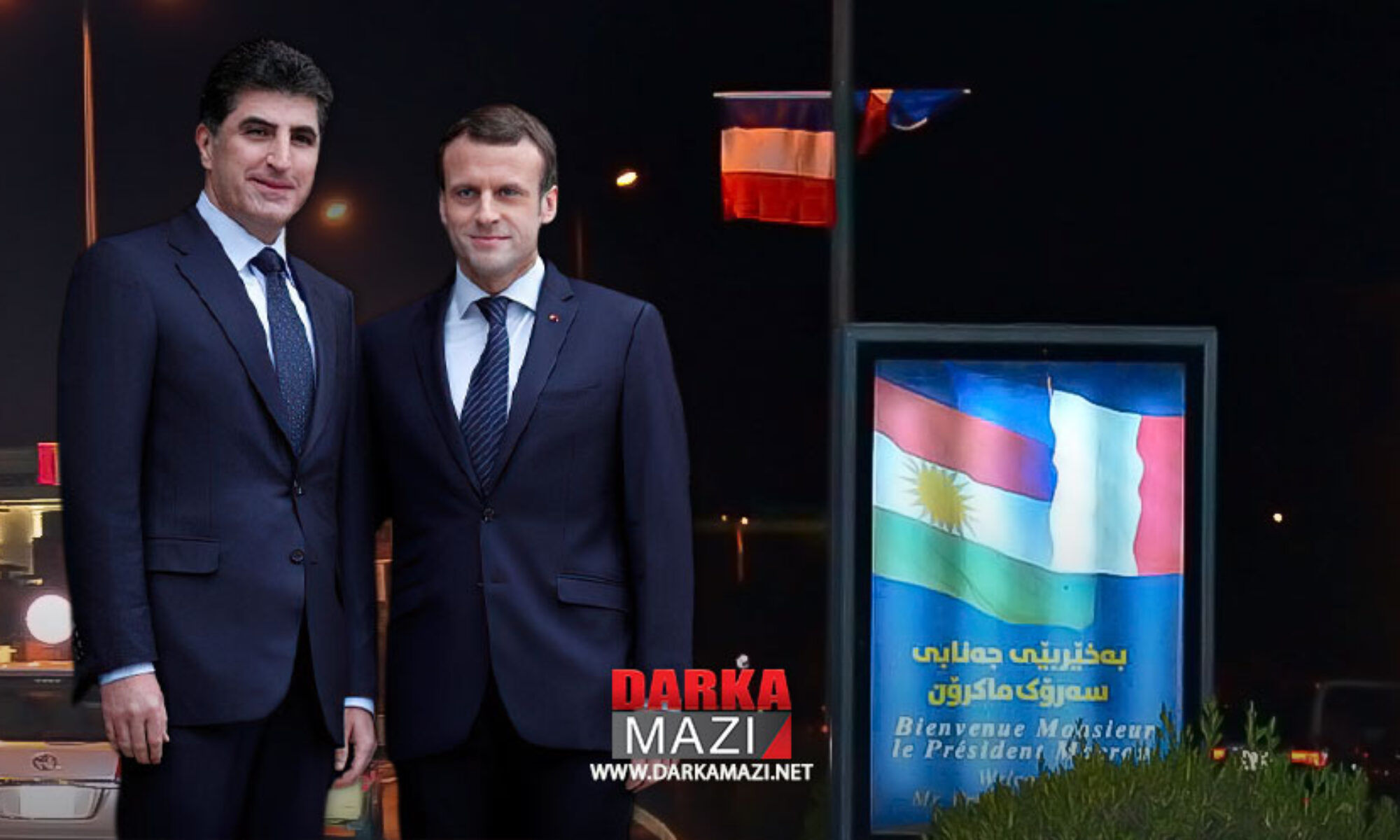 Bu gece Hewler'e gelecek olan Macron Kürdistan Bölgesindeki planlarını açıkladı