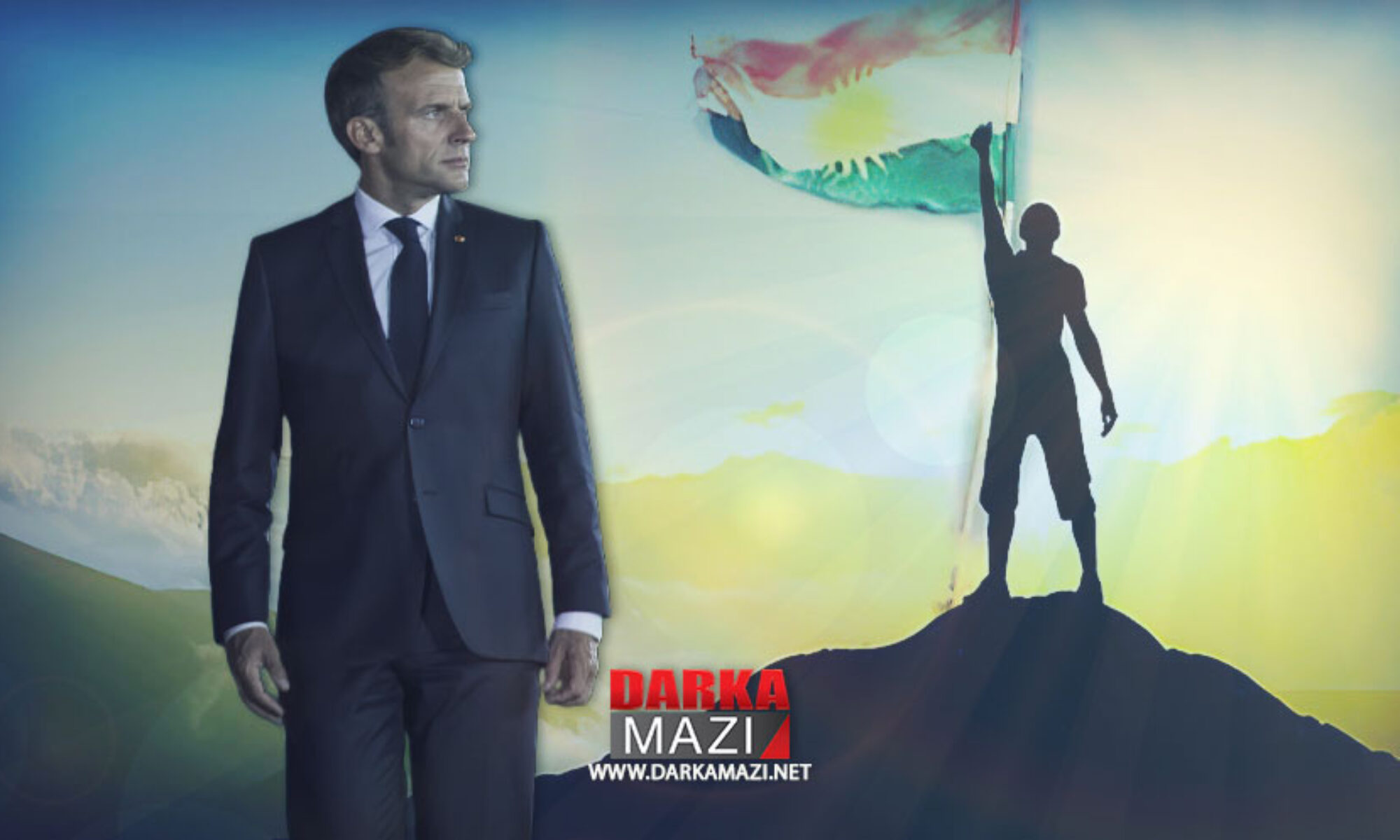Fransa medyası: Macron'un ziyareti Barzani ve Peşmerge'ye saygı anlamı taşıyor Peşmerge, Hucem Surçi, IŞİD; Mesut Barzani