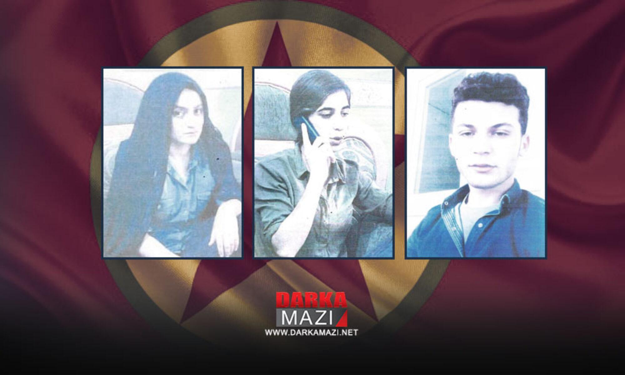 PKK'den ayrılmak isteyen üç Kürt genci Irak ordusu tarafından yine PKK'ye teslim edildi Mahmur Kampı; Rojava, gerilla, Kadro, Irak ordusu, YNK