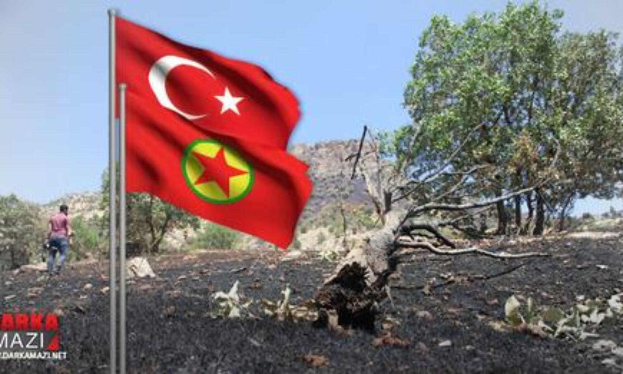 TSK ve PKK çatışmasının son iki ay içinde doğada yarattığı tahribatın bilançosu açıklandı Duhok; Zaxo, Derkare; Amediye, PKK, orman köy boşaltma