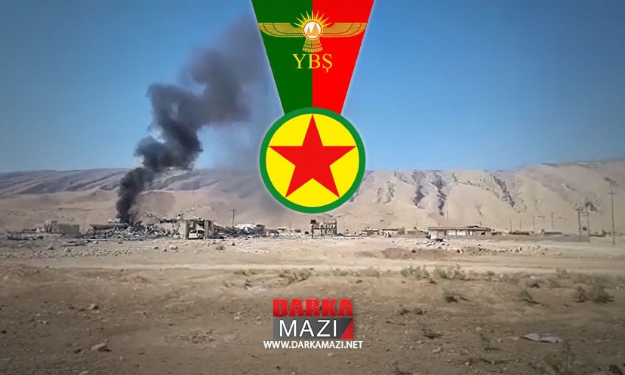 PKK'ye bağlı Şengal Meclisi: Dün ki saldırıda 8 kişi hayatını kaybetti, 4 kişi yaralandı YBŞ Şengal, Sikênîye
