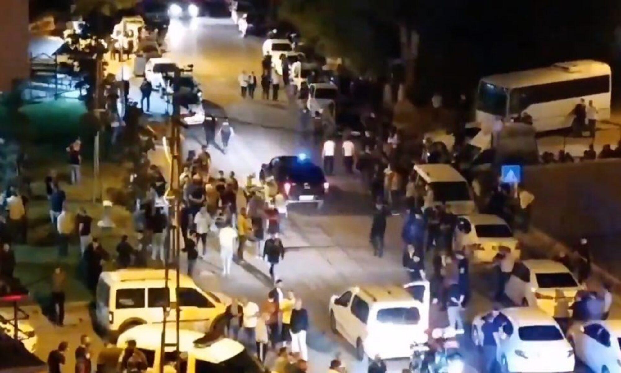 Altındağ'da ki yabancı düşmanlığını polis izledi